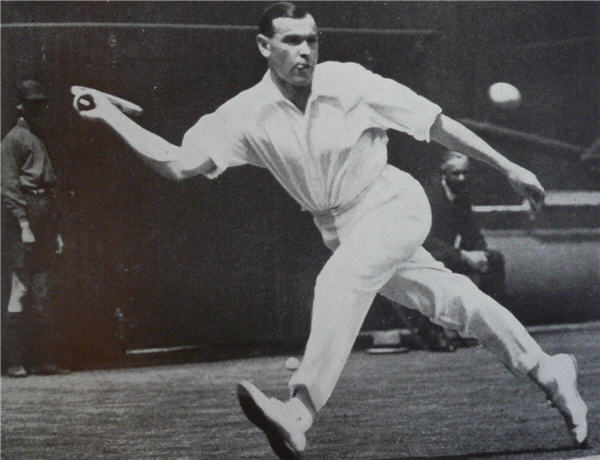 Gerald Patterson forehand