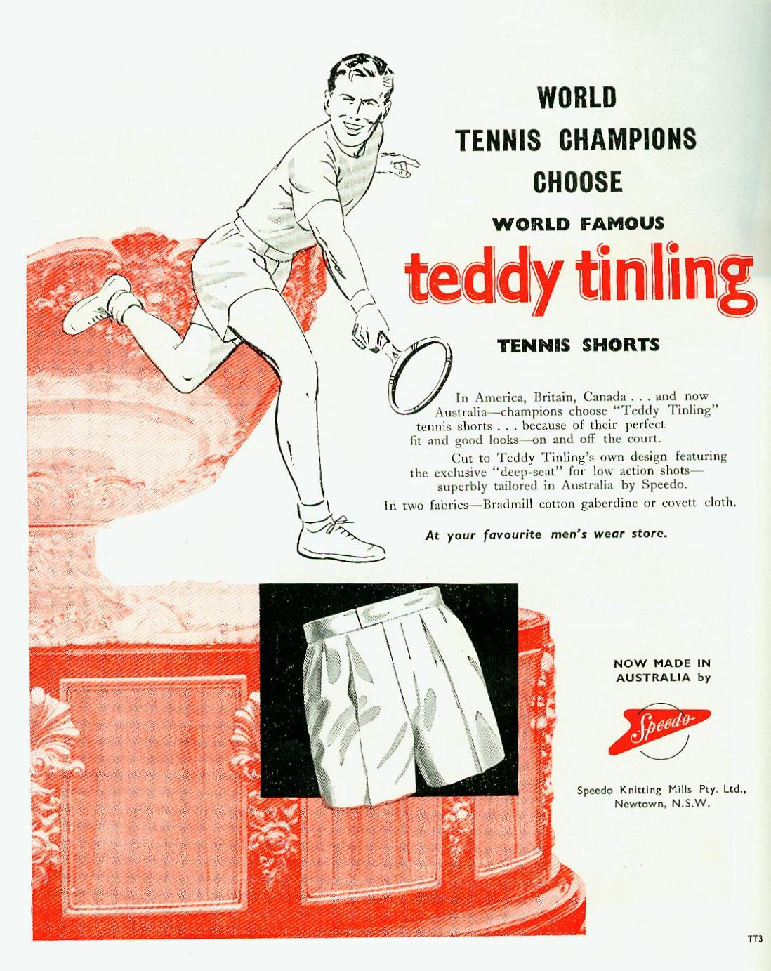 ted tingling shorts 54